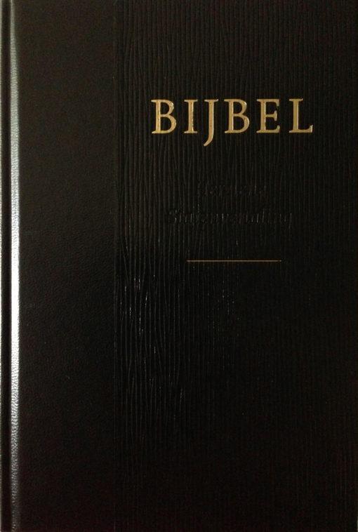 Bijbel HSV zwart